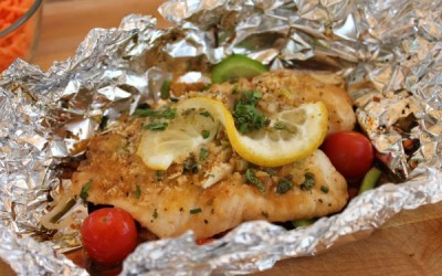 Patsy Gosling's Fish Fillet On The Barbecue