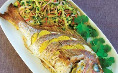Patsy Gosling's Whole Baked Snapper