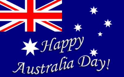 Australia Day at Peel Island.