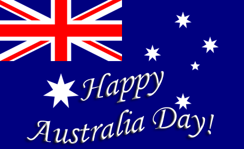 Australia Day at Peel Island.