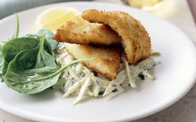 Whiting Fillets in Parmesan