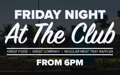 September Monthly Club Night