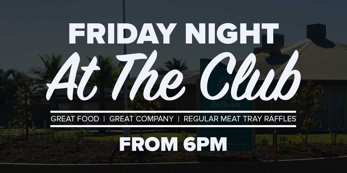 Redlands Boat Club Friday Night At The Club.