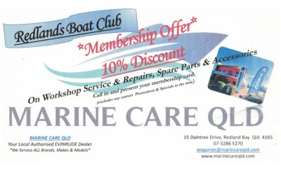 Member Offer Marine Care QLD